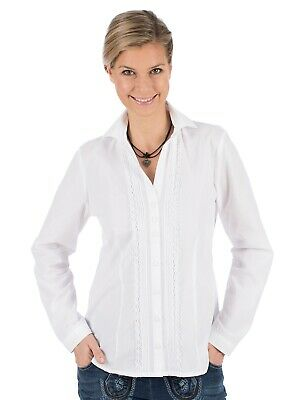 Os-trachten Traditional Costume Blouse Vanessa White