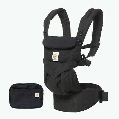 Ergobaby Omni 360 Baby Carrier -Pure Black. Never Used. In Box