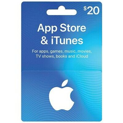 Itunes Gift Card 20 USD / American USA