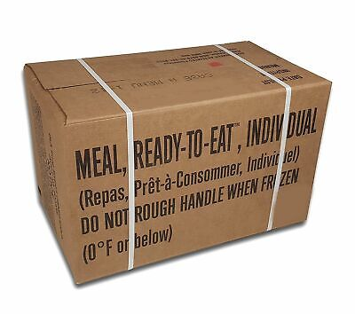 Military Surplus Meals Ready To Eat Case, Inspection 2019, Menu A, : MRE2019 (A