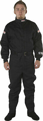 G-FORCE 4125XLGBK GF125 Single Layer Driving Suit