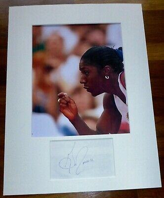 GWEN TORRANCE-A Hand Signed Card is Presented With A Photo-Mounted & Matted,COA
