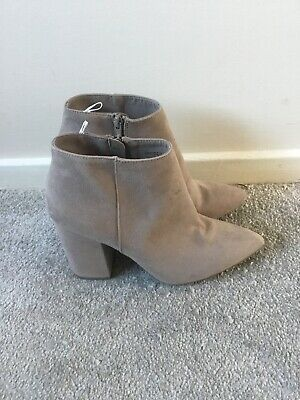 H&M Grey Ankle Boots Size 5