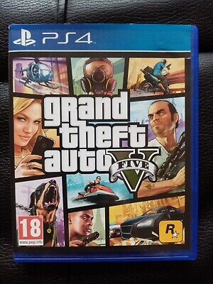 Grand Theft Auto V GTA5 PS4 PlayStation 4 Game with GTA ONLINE + REGION FREE