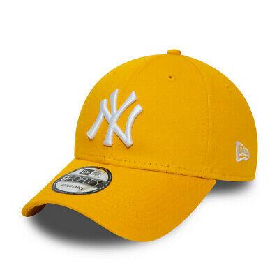 New Era New York Yankees Baseball Cap.9Forty Bright Cotton Essential Hat S20 83