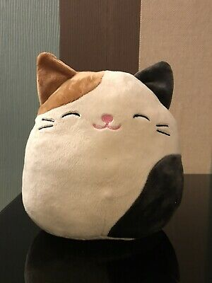 Squishmallows Cam the Calico Kitty Cat Soft Cuddle Plush Toy