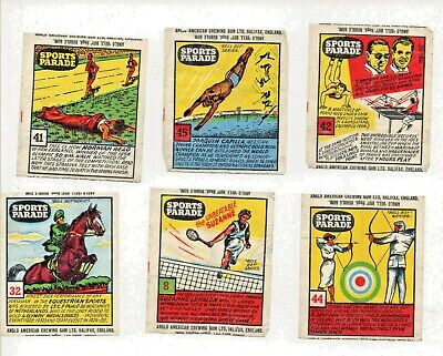 Sports Parade - Select a Card//Wrapper Trade Card//Wrapper Anglo-American