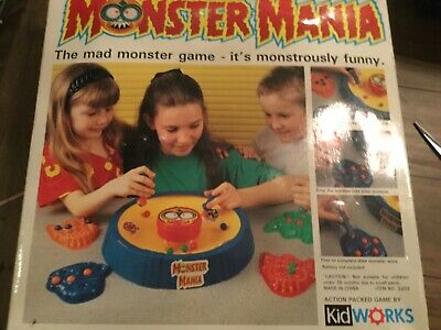 Vintage Kidworks rare Monster Mania Game complete and fully working
