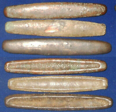 Laos Bronze 15-17th Century 3 large normal type boat set rare and nice  EF