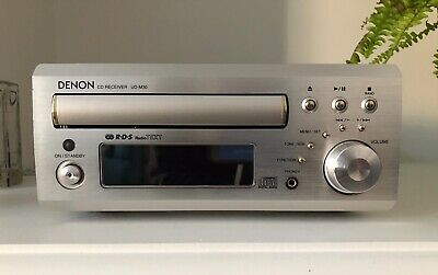 Denon UD-M30 Compact CD FM Receiver System - Silver - Instructions, Remote