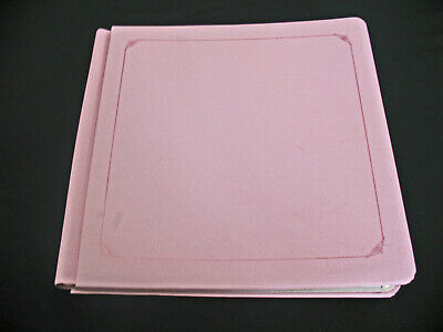Creative Memories 12x12 Light Pink Album with pages