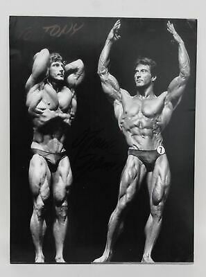 Mr Olympia 1977, 78 & 79 Frank Zane Autographed Signed 8x10 Photo Picture