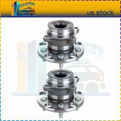 PAIR Rear Wheel Hub Bearing Assembly For 2006-2015 LEXUS IS250