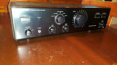 Vintage Onkyo A-801 Stereo Integrated Amplifier