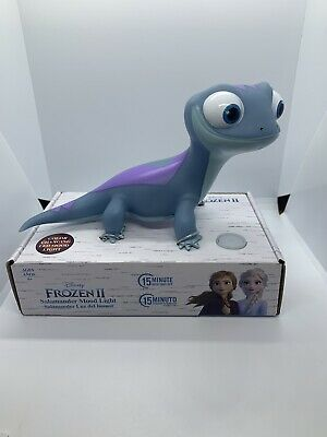 Disney Frozen ❄️ 2 Bruni The Salamander Mood Color Changing Night Light Figure