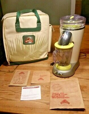 Margarita Margaritaville Bahamas Frozen Slush Drink Machine Blender Green w Bag