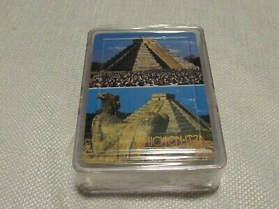 NEW Chichen Itza Blue Line Baraja Sealed Package Deck of Playing Cards POKER