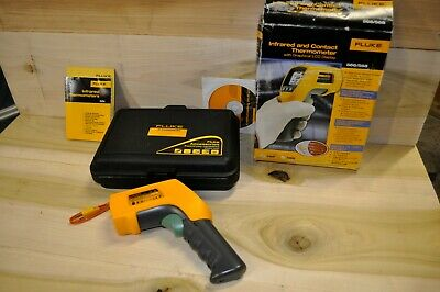 Fluke 566 IR Infrared Thermometer LCD Display  New