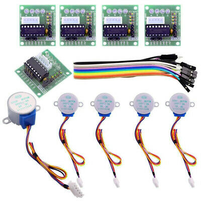 4 Phase Geared Stepper Motors 5V With ULN2003 Driver Boards 28BYJ-48 For Arduino