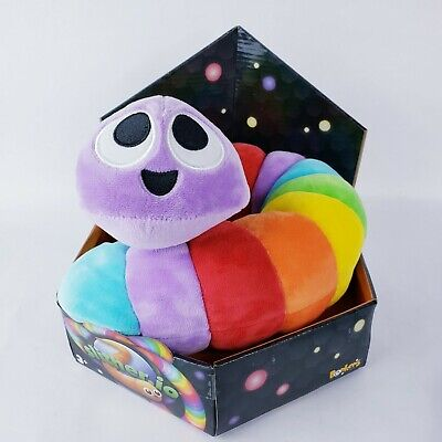 """Slither.io Jumbo 24/"""" Bendable Plush Toy in box Blue with Stars color"""