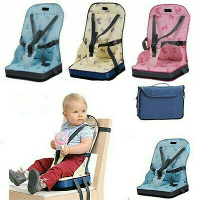 AU Baby Toddler Portable Dining Feeding High Chair Travel Foldable Booster Seat