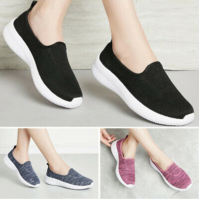 Women Loafers Ladies Loafers Fashion Lightweight Sneakers Slip On Comfy