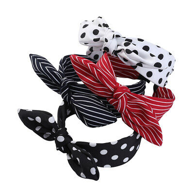 Women's Headband Hairband Bow Wide Knot Cross Tie Hair Band Hoop Accessories