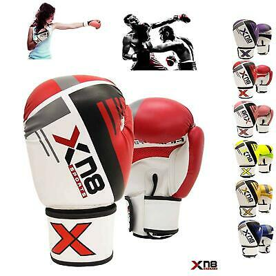 XN8 Boxing Gloves Punch Bag Muay Thai Kickboxing MMA Training Fighting Sparring