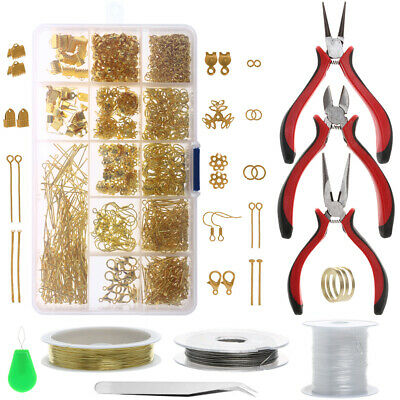 Jewellery Making Supplies Making Kits DIY Beginners Adults Crafters Tools Set