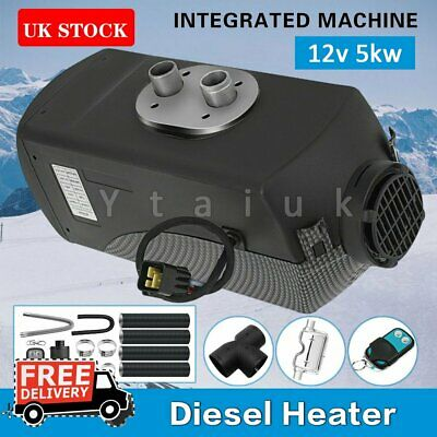 12V 5KW Air Diesel Heater Remote LCD Monitor PLANAR Trucks Boats Bus Car Remote