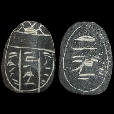 Beautiful Ancient Egyptian Scarab 300 Bc (1)