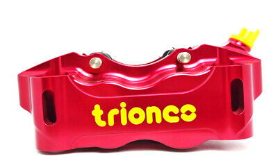 TRIONES HP 100mm radial front right brake caliper Red