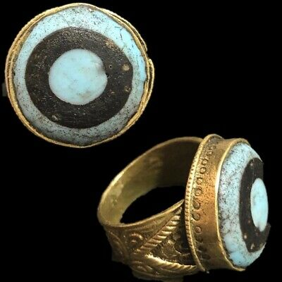 Rare Ancient Phoenician Stone Ring 300Bc Super Quality (5)