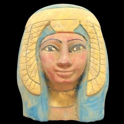 RARE ANCIENT EGYPTIAN MASK, LATE PERIOD 664 - 332 BC Large Over 1.6 Kg