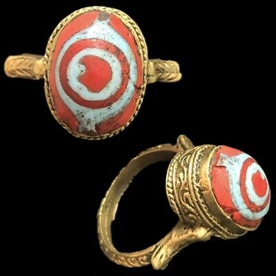 Rare Ancient Phoenician Stone Ring 300Bc Super Quality (6)