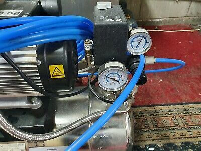 Stanwell Pub cellar compressor to drive flo-jets etc,stainless silent running.