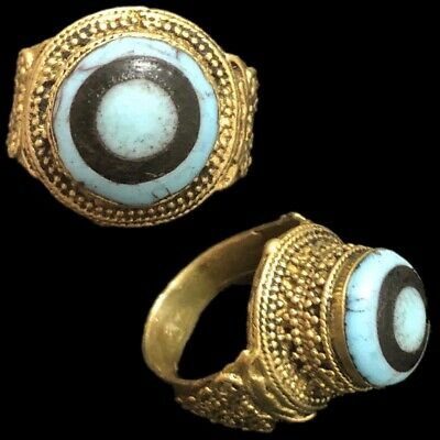 Rare Ancient Phoenician Stone Ring 300Bc Super Quality (9)