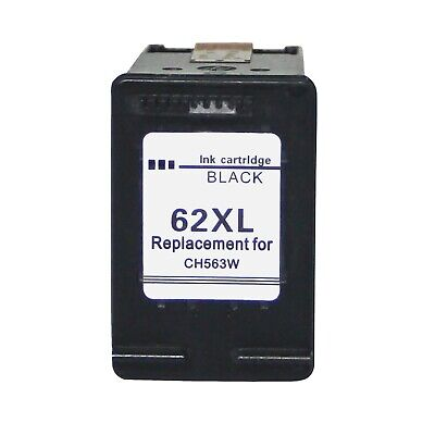 Black 62 XL Ink cartridge for HP 62XL for HP Envy 5540 5740 5742 Printers