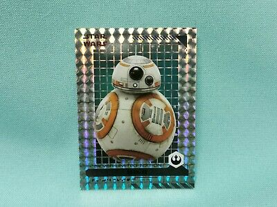 Topps Star Wars  The Rise of Skywalkers Limited Edition Silver - BB-8