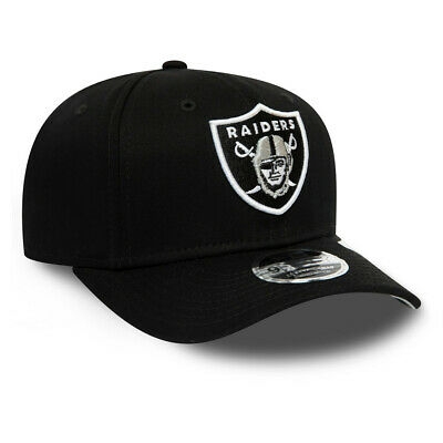 New Era Mens 9Fifty Baseball Cap.oakland Raiders Black Stretch Snapback Hat S20