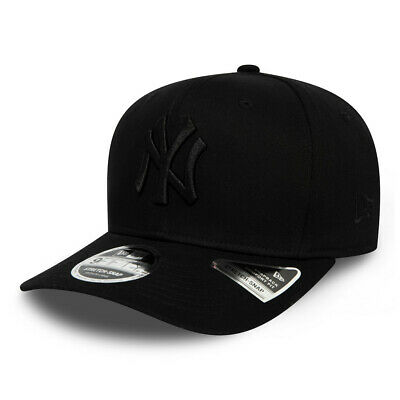 New Era Mens 9Fifty Baseball Cap.new York Yankees Black Stretch Snapback Hat S20
