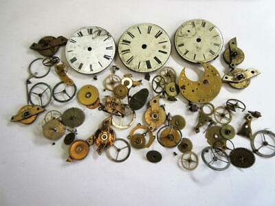 LARGE JOB LOT of ANTIQUE POCKET, WRIST WATCH PARTS FOR WATCHMAKER, REPAIRER #3