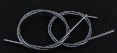 2pc 2000mm Each Bicycle Brake Cable Housing Gray Road MTB Teflon Liner NEW
