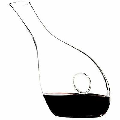 34 Wine Decanters Oz, Hand Blown Lead-free Crystal Decanter, Large Glass Carafe,