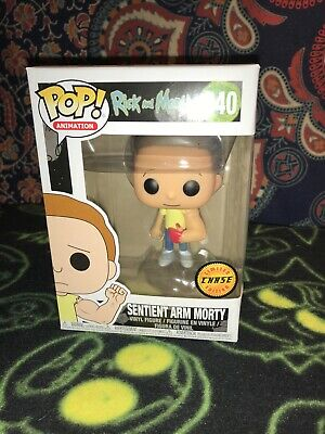 Funko Pop! Animation - Rick & Morty #340 SENTIENT ARM MORTY - CHASE VARIANT