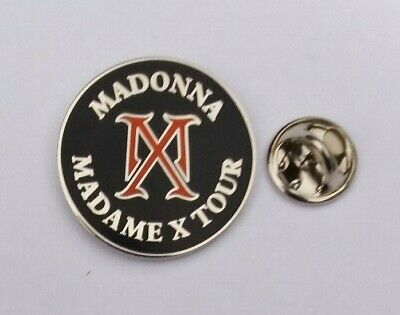 Madonna 2020 Madame X Mx Tour Uk / Europe Concert Pin #1