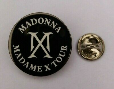 Madonna 2020 Madame X Mx Tour Uk / Europe Concert Pin #3