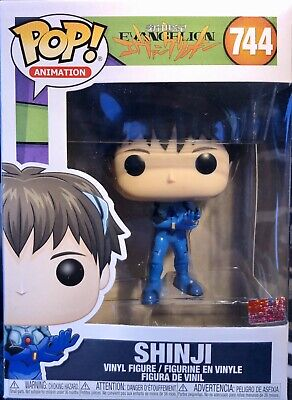 Funko POP Animation Evangelion Shinji Ikari Anime IN HAND Vinyl Figure #744