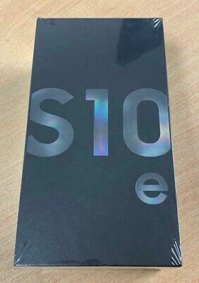 Samsung Galaxy S10e SM-G970F - 128GB - Prism Black (Unlocked) (Dual SIM) SEALED