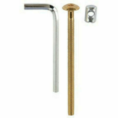Cot Bed Furniture Bolts Replacements 4 Screws Nuts M6 100mm Alan Allen Key Bunk